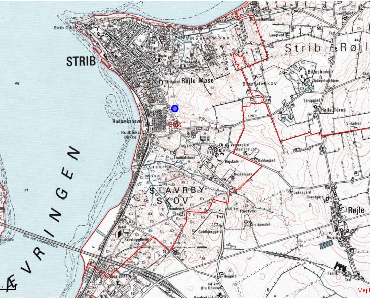 Strib sogn 1953 - 1976