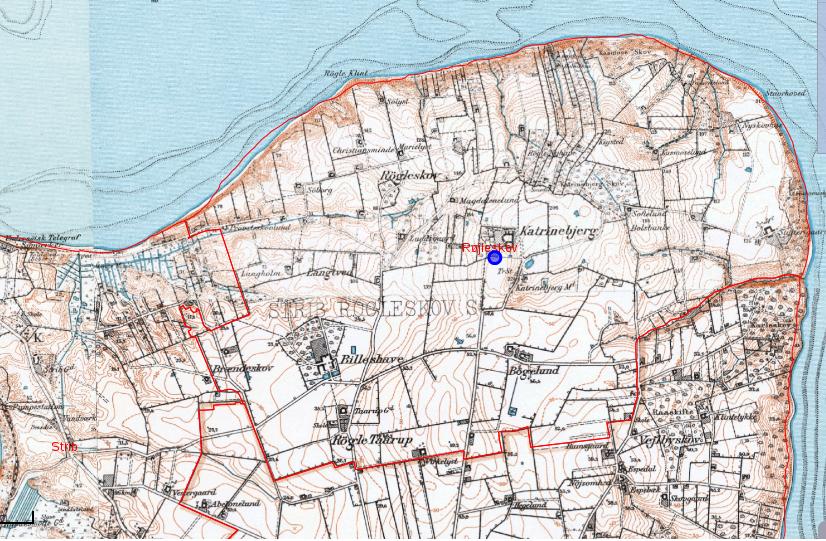 Røjleskov Sogn 1928 - 1940
