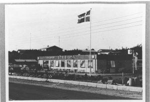 Strib Motel lå på Strandvejen