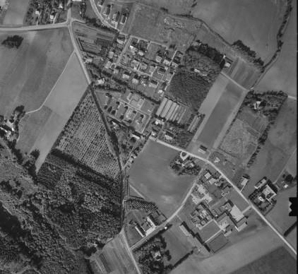 Starten af Abelonelundvej 1960